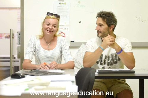 English Language School course in Malta