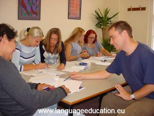 English Language School course in Torquay
