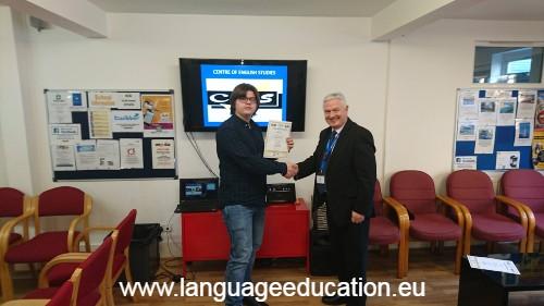 English Language School course in Worthing