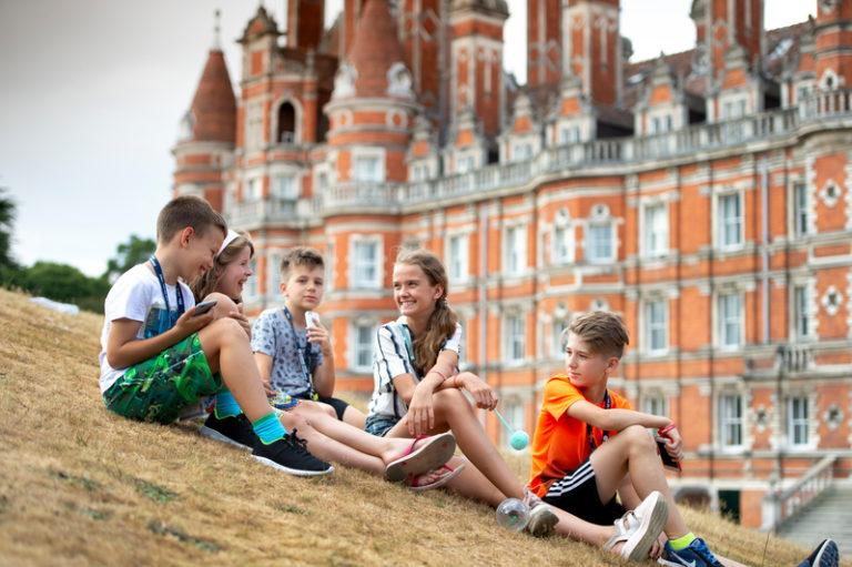 Junior Residential English Summer School Egham Royal Holloway United Kingdom