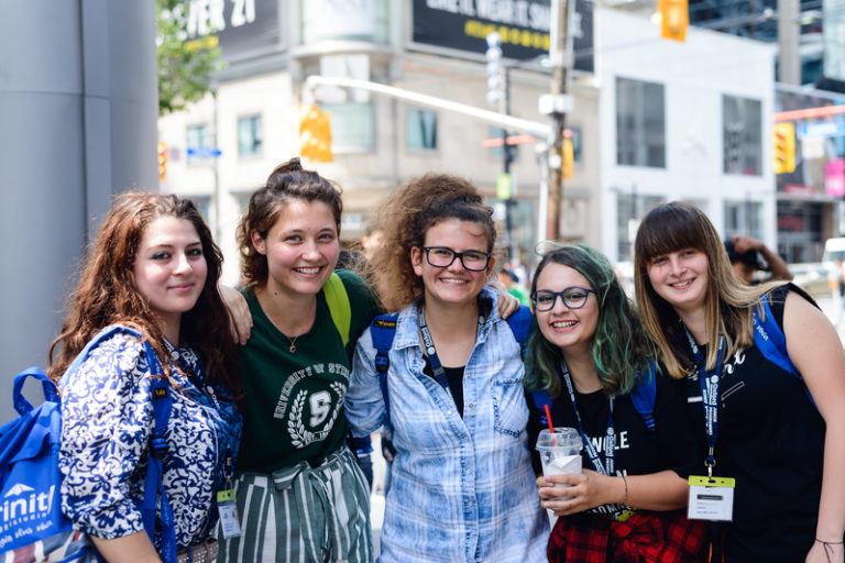 Junior Residential English Summer School Toronto Ryerson University Canada